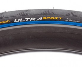 Vỏ Continental UltraSport 2 Wire Black/Blue Tire (Cái)